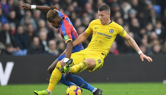 2752c8588 Premier League: Chelsea wygrała derby i odskoczyła Arsenalowi. Derby Londynu  dla Chelsea. The Blues pokonali na Selhurst Park Crystal Palace 1:0 ...