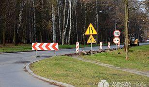 Dąbrowa Górnicza. Część ulicy Robotniczej została zamknięta dla ruchu.