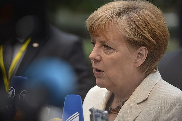 Petro Poroszenko i Angela Merkel o szansach na pokój na wschodzie Ukrainy