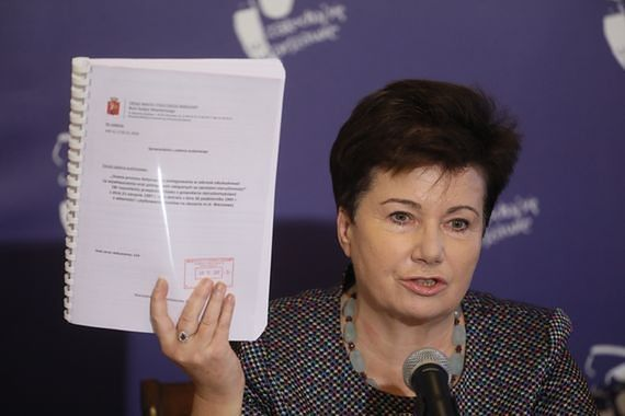 Gronkiewicz-Waltz chce delegalizacji ONR. Znamy treść pisma, które wysłała do ministra Ziobry