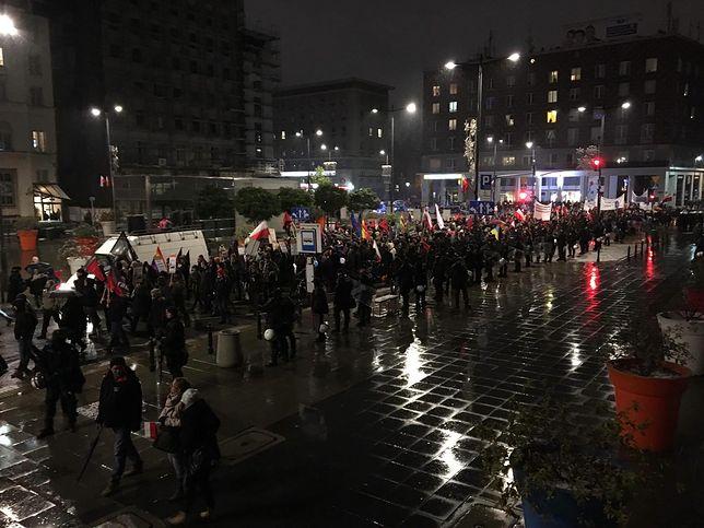 Zakończył się marsz antyfaszystowski