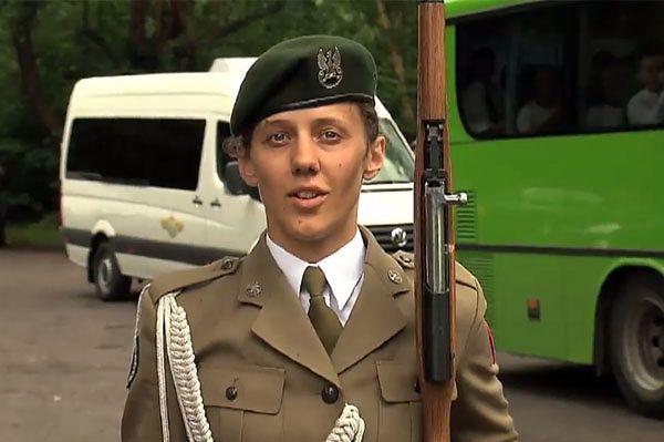 Pierwsza taka kobieta w polskim wojsku