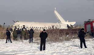 Kazachstan. Katastrofa samolotu w mieście Ałmaty