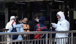 Walka z koronawirusem w Chinach.