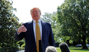 Donald Trump zapowiedział oświadczenie w sprawie ataku na amerykańskie bazy w Iraku