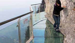 Kładka na zboczu góry Yuntai uważana jest za jedną z najbardziej przerażających atrakcji na świecie.
