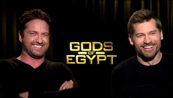 ''Bogowie Egiptu'': Anna Wendzikowska żartuje z gwiazdami filmu