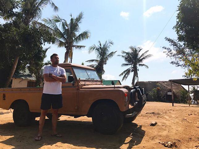 Krzysztof Puternicki wybiera się w kolejną podróż do Afryki.