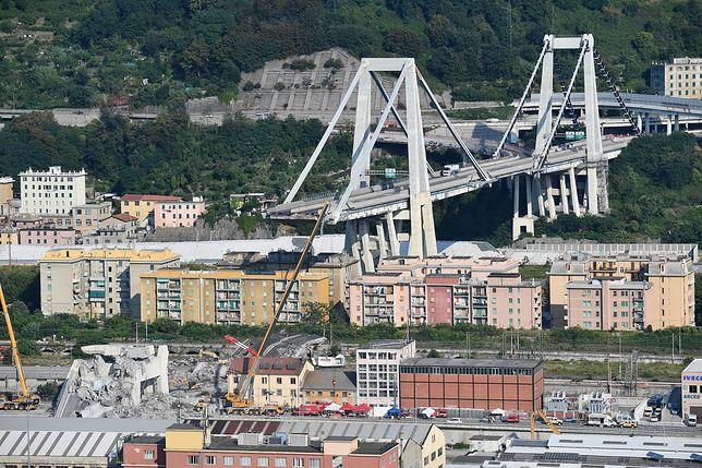 Ujawniono archiwalny raport ws. mostu w Genui