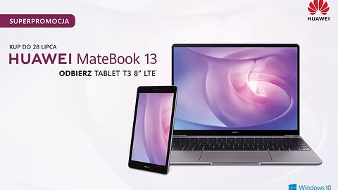 Promocja Huawei. Kup MateBook 13, tablet dostaniesz gratis