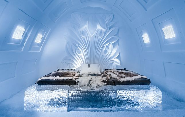 Lodowy luksus. Zobacz, jak powstaje ekskluzywny Icehotel