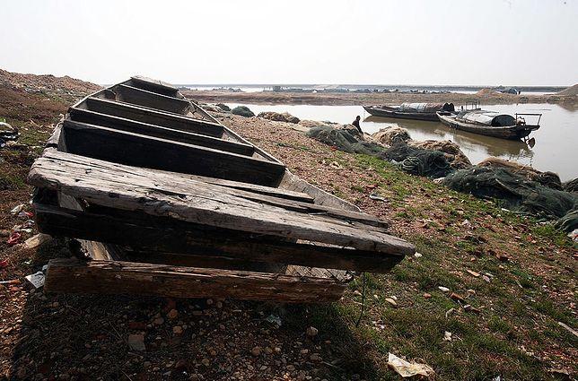 Gdzie giną setki łodzi? Jezioro Poyang Hu zagraża życiu