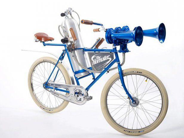Superklakson dla rowerzystów