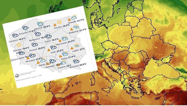 Niebezpieczna pogoda w Polsce. Uwaga na burze