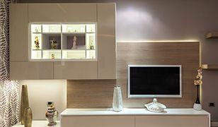 Odpowiednio dobrane oświetlenie pozwoli na zatuszowanie niedoskonałości niskiego mieszkania, czyniąc je funkcjonalnym i estetycznym