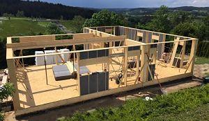Budowa domu w 4 dni. Pop-Up House
