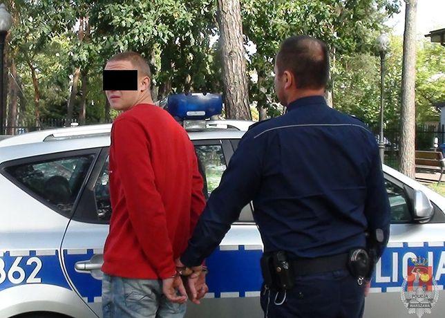 Policjant zapamiętał twarz złodzieja. Złapał go po kilku dniach