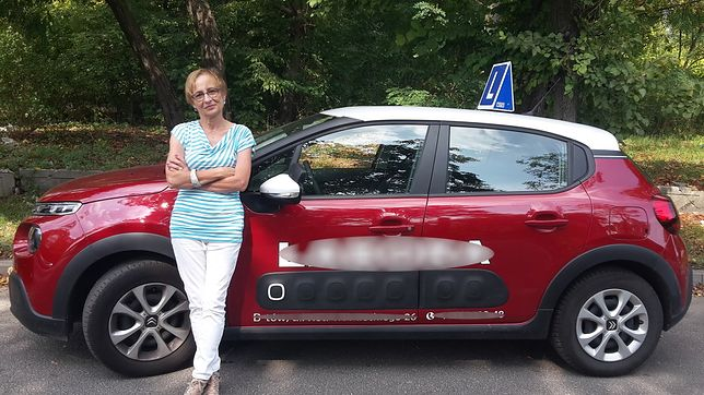 Bogumiła jest instruktorką prawa jazdy. Ta praca była dla niej nowym początkiem