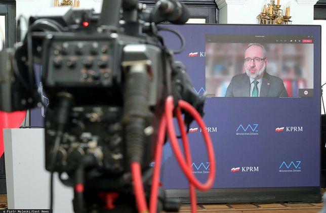 Koronawirus w Polsce. Konferencja prasowa ministra zdrowia Adama Niedzielskiego [NA ŻYWO]