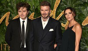 Brooklyn Beckham z dziewczyną po British Fashion Awards