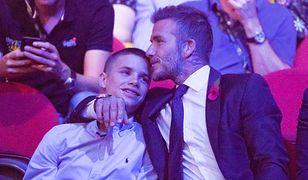 Romeo Beckham zakochany