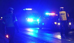 Wypadek busa niedaleko Słomnik w Małopolsce