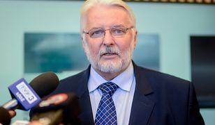 Witold Waszczykowski, europoseł PiS i były szef polskiej dyplomacji