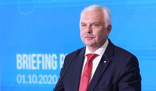 Koronawirus w Polsce. Wiceminister zdrowia Waldemar Kraska