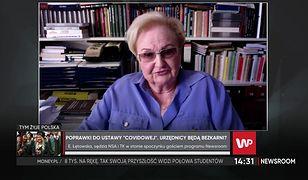 """""""Bezkarność urzędników"""" w ogniu krytyki. Prof. Łętowska wprost: To przyzwolenie na niszczenie ludzi"""