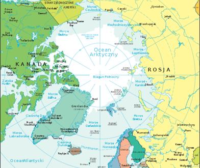 Kanada, Rosja i Dania zgłaszają roszczenia do bieguna północnego