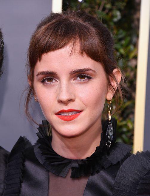 Emma Watson podczas 71 gali rozdania nagród Brytyjskiej Akademii Filmowej (BAFTA)