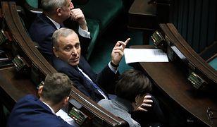 """""""Powtarzam to, o czym się mówi na korytarzach sejmowych"""" - powiedział Grzegorz Schetyna"""