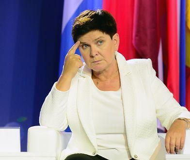 Beata Szydło zaskoczyła wszystkich. Po raz pierwszy nie miała broszki