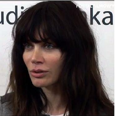 """Ewa Bukowska polska aktorka i reżyserka. Debiutowała w filmie """"Kroll"""""""