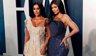 Oscary 2020. Kim Kardashian i Kylie Jenner nie czuły się komfortowo. Wszystko przez sukienki