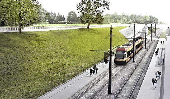 Warszawa. Projekt nowej trasy tramwajowej na Kasprzaka