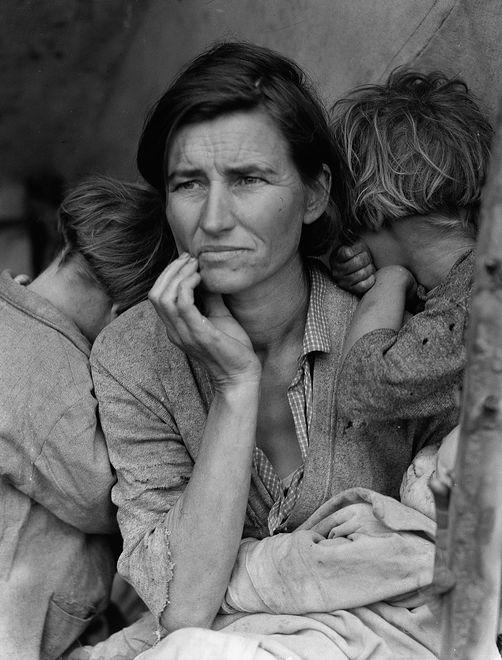 """#herstory. Florence Owens Thompson, czyli """"Matka tułaczka"""" ze słynnego zdjęcia"""