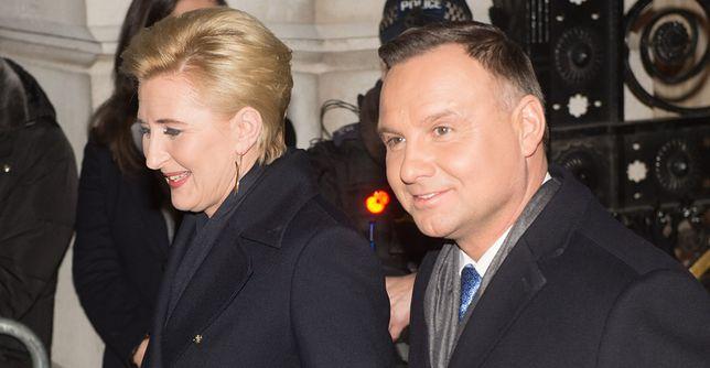 Para prezydencka złożyła świąteczne życzenia