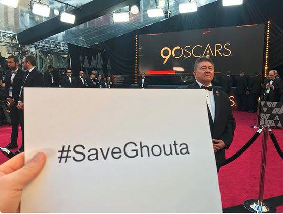 Jasny i dobitny apel podczas oscarowej nocy: #SaveGhouta