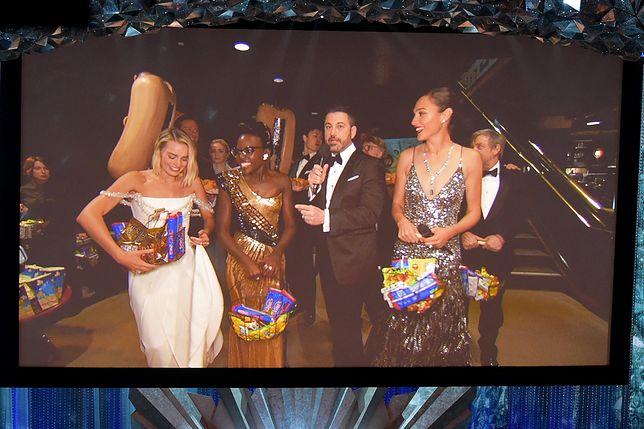 Dziwaczny happening podczas 90. ceremonii rozdania Oscarów