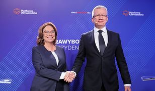 W debacie spotkali się Małgorzata Kidawa-Błońska i prezydent Poznania Jacek Jaśkowiak