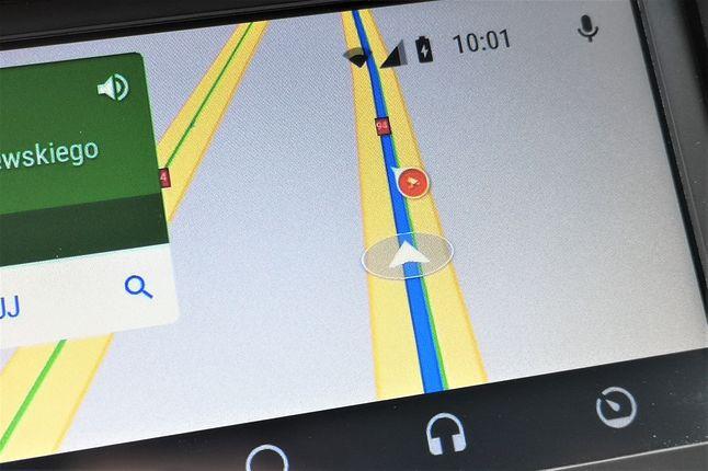 Informacje o fotoradarach są wyświetlane także w Android Auto.
