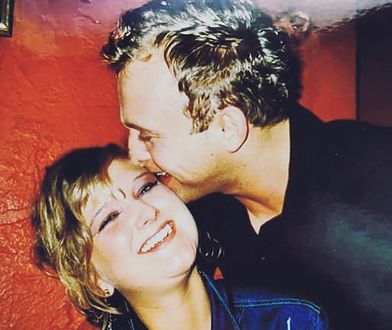 Justyna Nagłowska i Borys Szyc 17 lat temu