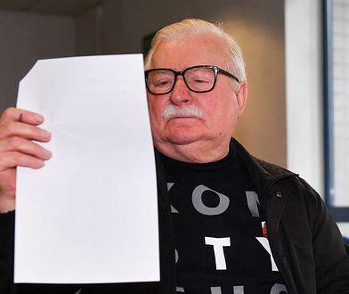 Lech Wałęsa będzie wnioskował o autolustrację