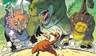 """""""Dinozaury w komiksie"""": Idealny prezent dla małych i trochę większych [RECENZJA]"""
