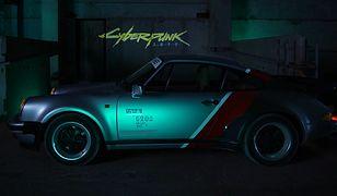 W Cyberpunk 2077 będziemy jeździli Porsche 911. Kultowy samochód przerobili Polacy