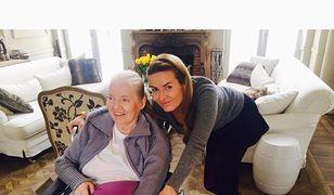 Hanna Lis i jej chora mama, która padła ofiara oszustów telekomunikacyjnych