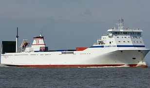 Statek Elisabeth Russ ma 153 m długości i 21 szerokości, a pojemność ładunkowa to 1625 m.