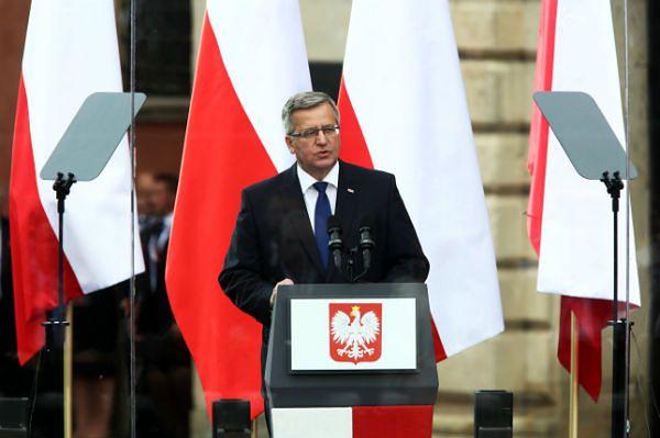 Bronisław Komorowski: nie ma wolności bez solidarności z Ukrainą