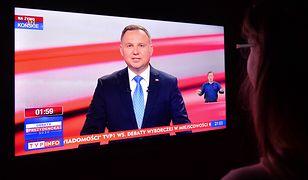 """Debata prezydencka. Ekspertka mowy ciała. """"Andrzej Duda czuje wielki stres"""""""